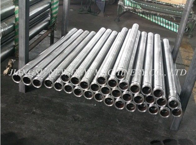 CK45 Chrome Plated Hollow Threaded Rod For Hydraulic Cylinder